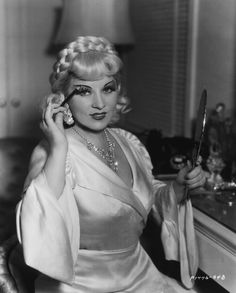 No one like Mae West....