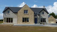 New Builds Kildare House Designs Ireland, Bungalow Renovation, Dream House Interior, Exterior Remodel, Architect House, House Goals, New Builds, Exterior Design, Building A House
