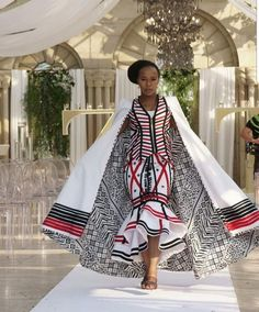 Wow so dramatic - ankara gown and cape Latest African Fashion Dresses, African Inspired Fashion, African Print Fashion, Africa Fashion, Women's Fashion, Fashion Outfits, African Traditional Wear, African Traditional Wedding Dress, Traditional Outfits