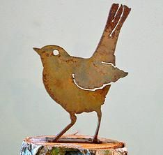 Love these for the fence, stumps or trees!  RustyBirds.com