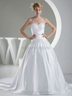 Find ball gown Wedding #Gowns and ball gown  wedding #dresses on http://www.millybridal.com