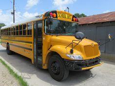 School Bus For Sale, Buses For Sale, School Buses, International School, Trucks, Yellow, Truck, Cars