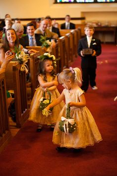 "Our precious flower girls and ring ""bear"" (as he called himself)!  Photo courtesy of Stephen Gosling Photography."