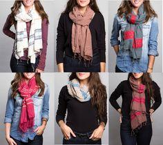 Trendy Scarves for Women
