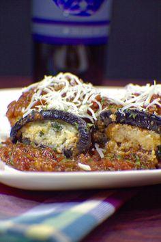 Baked Eggplant Invol