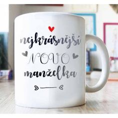 svatební hrnek, dárek ke svatbě, svatební dar Mugs, Tableware, Dinnerware, Tumblers, Tablewares, Mug, Dishes, Place Settings, Cups