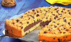 Bake a cookie giant Nutella! It is perfect for gourmands! - Bake a cookie giant Nutella! It is perfect for gourmands! Cookie Au Nutella, Dessert Au Nutella, Easy Chocolate Chip Cookies, Chocolate Cookie Recipes, Nutella Recipes, Chocolate Chip Oatmeal, Biscuit Nutella, Sugar Cookie Recipe Easy, Cake Mix Cookie Recipes
