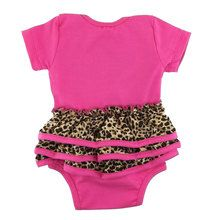 #Leopardprint ruffle #babyvest from #Metallimonsters