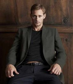 Alexander Skarsgard and His Family | ... Bloods Alexander Skarsgard Talks About His Tattoo, Family And Acting