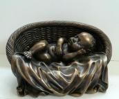 beeldje van een baby -- Afternoon nap-- baby slaapt