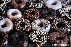 Eplekake i langpanne med vaniljekrem   Det søte liv Baileys, Doughnut, Donuts, Sweet Tooth, Deserts, Homemade, Fresh, Baking, Cake