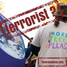 Green Divas Radio Show: Green is the New Red? Activism v. Terrorism