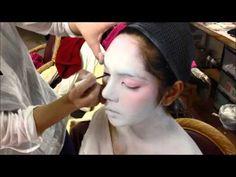 Geisha Makeup Tutorial - YouTube