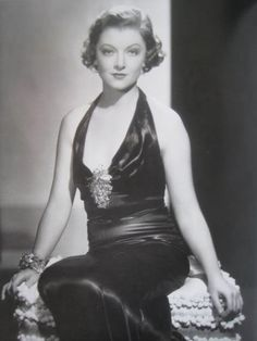 """Myrna Loy in the Thin Man, dress designed by Dolly Tree. the """"loo-loo"""""""
