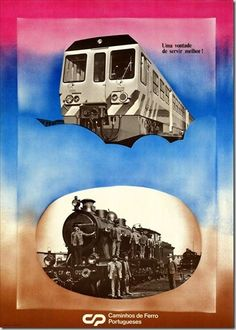 Restos de Colecção: Publicidade aos Caminhos de Ferro (2)