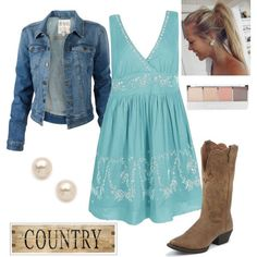 """""""Country Outfit II"""" by natihasi on Polyvore"""