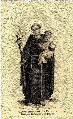 Saint Antoine de Padoue et l�Enfant J�sus