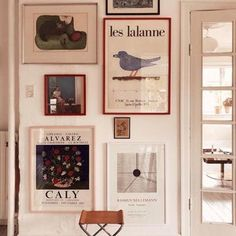 Interior Decorating, Interior Design, French Interior, Decorating Ideas, Decorating Websites, Interior Paint, New Wall, Wall Of Art, Interior Inspiration