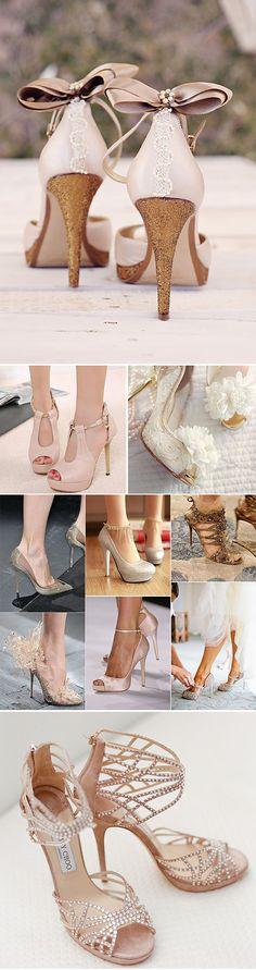 Zapatos de novia con taconazos de película Amazing Wedding Shoes