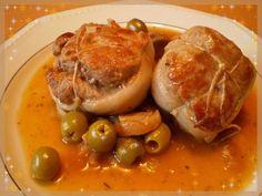 Paupiette de veau aux olives