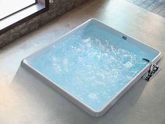 Vasca Da Appoggio : Vasca da bagno quadrata: 20 modelli da appoggio e da incasso bagni