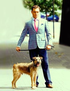 Chuck Bass and Monkey