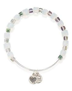 *NEW* Alex & Ani Herb Gleaming Moment Beaded Bangle - http://designerjewelrygalleria.com/alex-ani/new-alex-ani-herb-gleaming-moment-beaded-bangle/