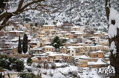 Η Ελλάδα ψηφίζει...την εκπληκτική χιονισμένη Καρυά...