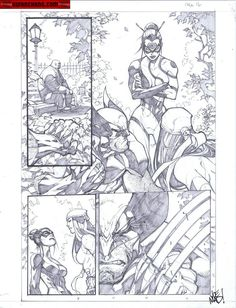 Kwan Chang :: For Sale Artwork :: Savage Wolverine # 6 by artist Joe Madureira