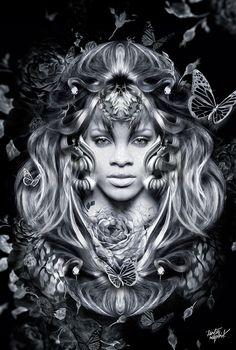 Auteur : Obery Nicolas - Sujet : Rihanna Fantasmagorik - Website : 7zic.fr