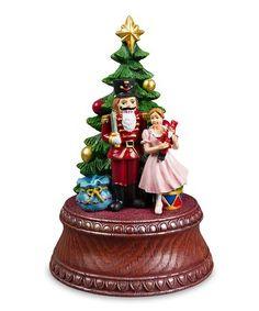 The San Francisco Music Box Company Classic Nutcracker Tree Musical Figurine Christmas Images, Christmas Holidays, Christmas Decorations, Holiday Decor, Nutcracker Christmas, Christmas Figurines, Christmas Ornaments, Decorative Bells, Snow Globes