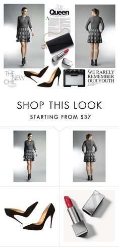 """""""SHOP - Historic New York"""" by fashionhistoric ❤ liked on Polyvore featuring Christian Louboutin, Burberry and NARS Cosmetics"""