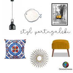 Odrobina Portugalii we wnętrzu. Oczywiście z naszą kolekcją Mozaikowe Porto!   Poduszka - Designomania Plakat - Loft Poster Design Poster Wall, Modern Art, Tapestry, Interior, Design, Home Decor, Poster, Hanging Tapestry, Tapestries