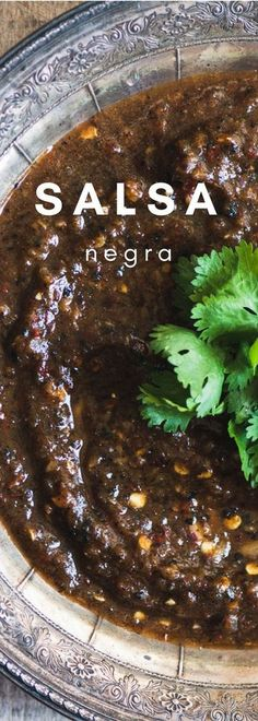 Fire Roasted Salsa N Fire Roasted Salsa Negra this intense. Fire Roasted Salsa N Fire Roasted Salsa Negra this intense Mexican black salsa is made with roasted tomatoes and peppers for a deep dark color and a gutsy flavor. Caution this recipe involves p