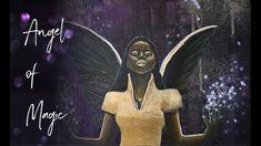 Angel of Magic - Acrylic Painting Video Painting Videos, Angel Art, Magic, Fantasy, Tv, Artwork, Movie Posters, Instagram, Work Of Art