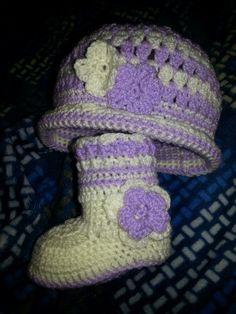 Gorrito crochet para bebé