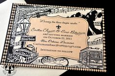 New Orleans Save the Date Cards - Etsy