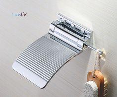 Chrome Shower Fold Up SHAVING FOOTREST or Shaving Ledge by Sanliv.