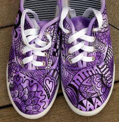 Zentangle Art | Zentangle sneakers, shoes, sneakers, custom sneakers, zentangle art ...