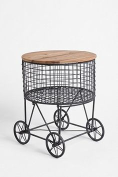 Loving this industrial table by UO!