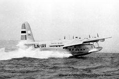 Norwegian Airlines Short Sandringham Flying Boat LN-IAV