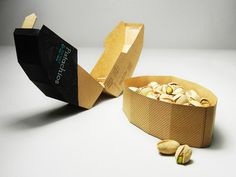 Pistachios packaging design from thedieline 2 20 Cool & Creative Food Packaging Design Assemblage For Inspiration