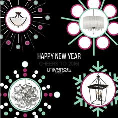 Happy New Year from all of us at Universal Lamp. Thank you to all our valued customers for making this a fantastic year! We can't wait to see what 2016 has in store. Cheers to Happy New Year, Cheers, Ads, Shit Happens, Store, How To Make, Tent, Happy New Years Eve, Shop Local