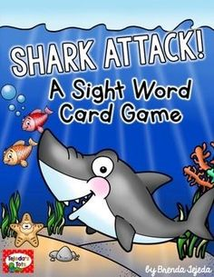 Sight WordsYour students will love playing this fun ocean-themed sight word game!Students read sight words on ocean-themed cards, get bonuses from octopus and starfish cards, and avoid crab, seaweed, and SHARK ATTACK cards.**Fry words 1-100 are included, as well as a list of words in sets of 25.