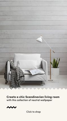 Living Room Scandinavian Wallpaper – Neutral Wood Wall Mural MuralsWallpaper c… – toptrendpin. Neutral Wallpaper, Wood Wallpaper, Wallpaper Murals, Scandinavian Wallpaper, Scandinavian Interior Design, Scandinavian Living, Living Room On A Budget, New Living Room, Small Space Living