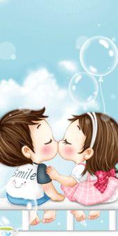 ⊙일러스킨~♥ : 네이버 블로그 Cute Love Gif, Love Kiss, Hug Gif, Photo Frame Design, Korean Anime, Gif Pictures, Sweet Couple, Love Images, Cute Couples