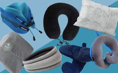 14 Best Travel Pillows - Neck Support for the Airplane — Travel + Leisure Best Neck Pillow, Neck Pillow Travel, Travel Pillows, Travel Kits, Travel Info, Air Travel, Travel Stuff, Travel Hacks, Travel Packing