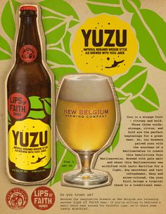 NEW BELGIUM YUZU...can't wait to try this