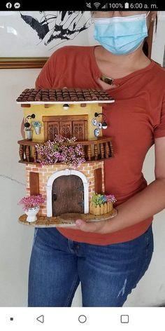 Mail Orange Jute Crafts, Clay Crafts, Diy And Crafts, Paper Crafts, Bottle Painting, Bottle Art, Bottle Crafts, Diy For Kids, Crafts For Kids
