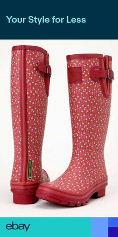 a0ea33ccb5d5 Ladies Wellies Winter Boots Rain Boots Evercreatures Designer Rubber  Wellingtons